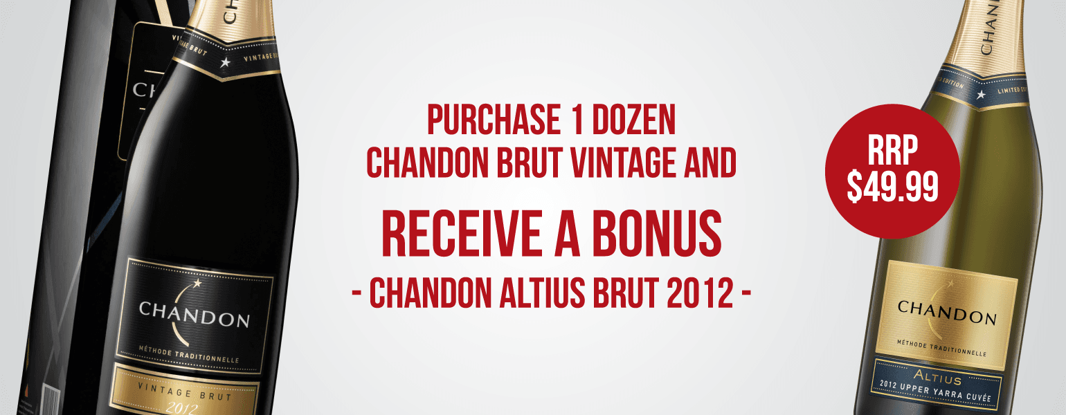 Chandon Vintage offer