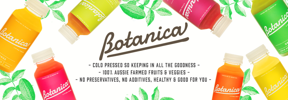Botanica - 100% Aussie Fruit & Veggies. New to Shorty's and Tastes Delicious!