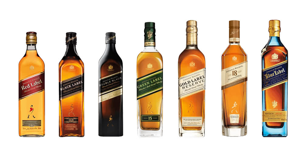Johnnie Walker Colours Collection